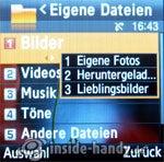 Samsung SGH-E590: Dateimanager