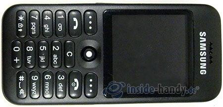 Samsung SGH-E590: Draufsicht