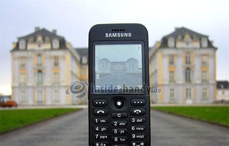 Samsung SGH-E590: Foto Schloss