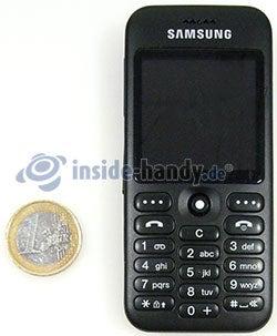 Samsung SGH-E590: Größenverhältnis