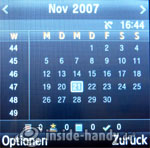 Samsung SGH-E590: Kalender