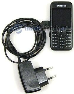 Samsung SGH-E590: Ladegerät