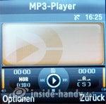Samsung SGH-E590: MP3-Player