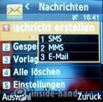 Samsung SGH-E590. Nachrichten