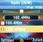 Samsung SGH-E590: Radio