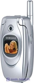 Samsung SGH-E600 Datenblatt - Foto des Samsung SGH-E600
