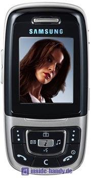 Samsung SGH-E630 Datenblatt - Foto des Samsung SGH-E630