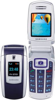 Samsung SGH-E700 Datenblatt - Foto des Samsung SGH-E700