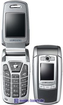 Samsung SGH-E720 Datenblatt - Foto des Samsung SGH-E720