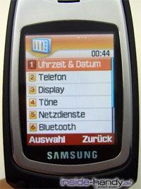 Samsung SGH-E730 - Innendisplay
