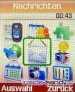 Samsung SGH-E730 -Menü