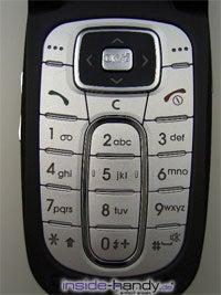 Samsung SGH-E730 - Tastatur
