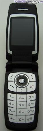 Samsung SGH-E760 - aufgeklappt von Vorn