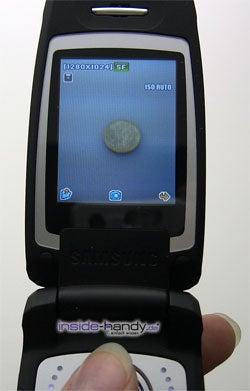 Samsung SGH-E760 - Display