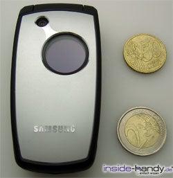 Samsung SGH-E760 - Größe