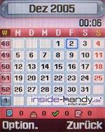Samsung SGH-E760 - Kalender