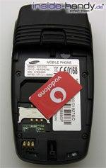Samsung SGH-E760 - SIM-Karte