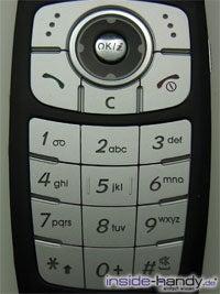 Samsung SGH-E760 - Tastatur