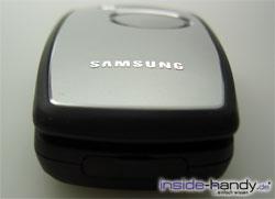 Samsung SGH-E760 - von unten