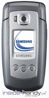 Samsung SGH-E770 Datenblatt - Foto des Samsung SGH-E770