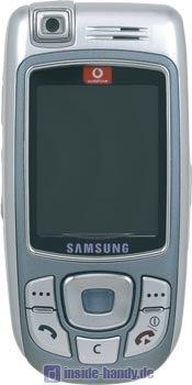 Samsung SGH-E810 Datenblatt - Foto des Samsung SGH-E810