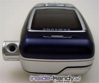 Samsung SGH-E850 - Kamera draussen