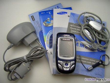 Samsung SGH-E850 - Lieferumfang