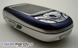 Samsung SGH-E850 - schräg