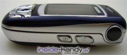 Samsung SGH-E850 - seitlich