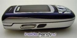 Samsung SGH-E850 - setlich
