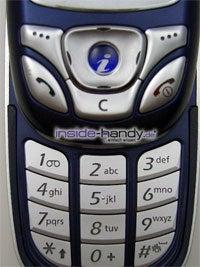 Samsung SGH-E850 - Tastatur
