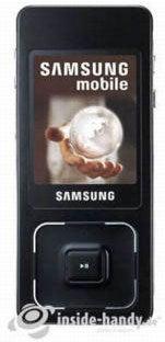 Samsung SGH-F300 Datenblatt - Foto des Samsung SGH-F300