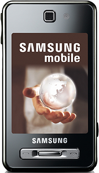 Samsung SGH-F480i Datenblatt - Foto des Samsung SGH-F480i