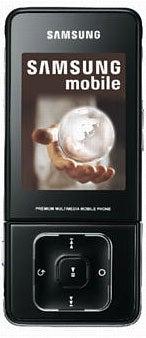 Samsung SGH-F510 Datenblatt - Foto des Samsung SGH-F510
