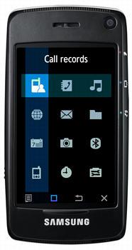 Samsung SGH-F520 Datenblatt - Foto des Samsung SGH-F520