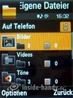 Samsung SGH-G800: Dateimanager