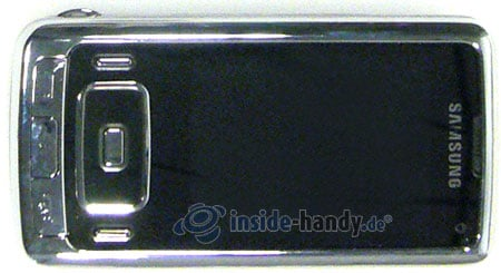 Samsung SGH-G800: Draufsicht