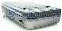 Samsung SGH-G800: Ecke unten links