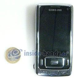 Samsung SGH-G800: Größenvergleich