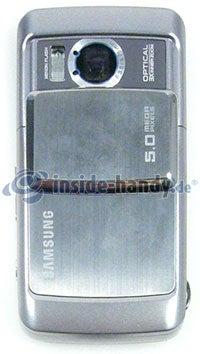 Samsung SGH-G800: Rückseite