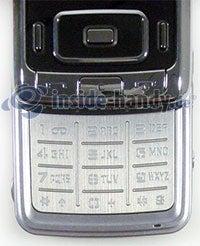 Samsung SGH-G800: Tasten