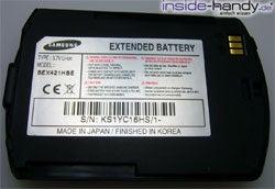 Samsung SGH-i300 - Akku
