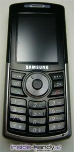 Samsung SGH-i300 - Front