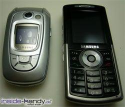 Samsung SGH-i300 - größenvergleich