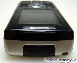 Samsung SGH-i300 - liegend von oben