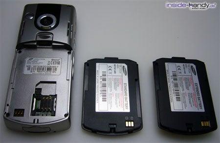 Samsung SGH-i300 - Rückseite auseinander