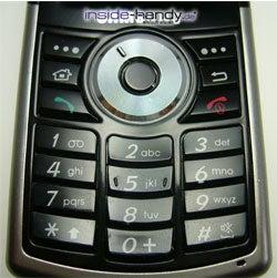 Samsung SGH-i300 - Tastatur