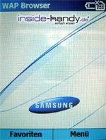 Samsung SGH-i300 - WAP Browser
