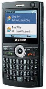Samsung SGH-i600 Datenblatt - Foto des Samsung SGH-i600