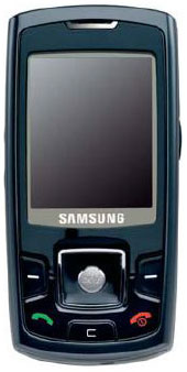 Samsung SGH-P260 Datenblatt - Foto des Samsung SGH-P260